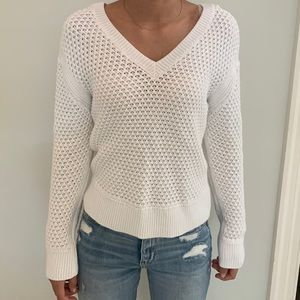 V neck (front and back) Sweater